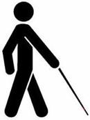 Blindsymbol